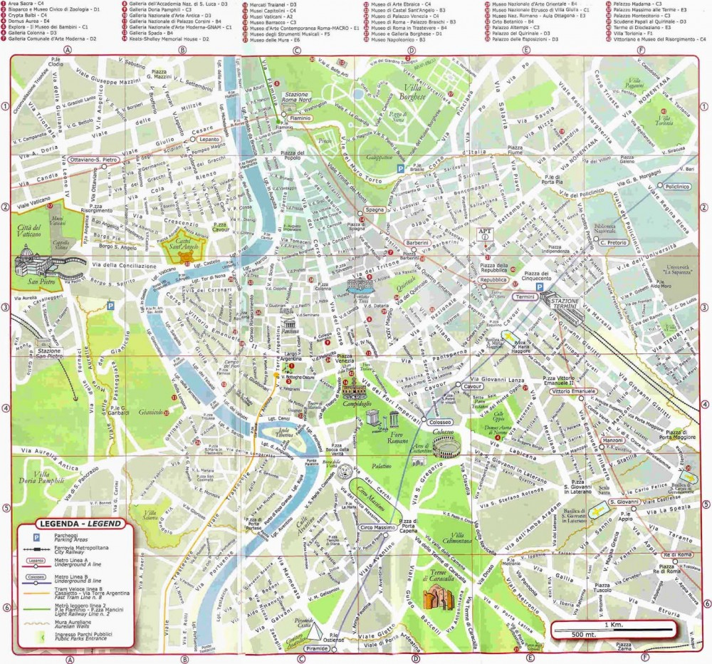 Pour La Carte De Transport Et Metro Rome Visite Atacroma It Pageaspp18