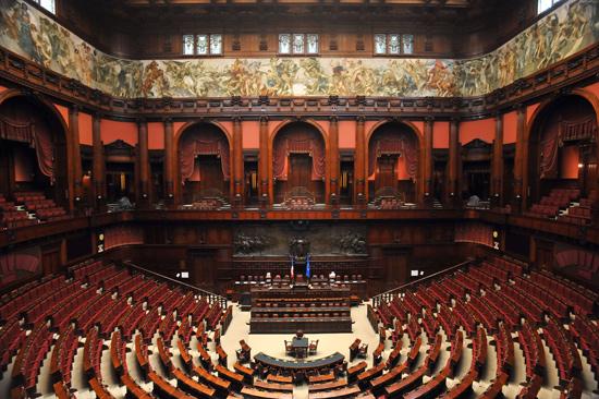 Palazzi del potere fra for Palazzo parlamento italiano